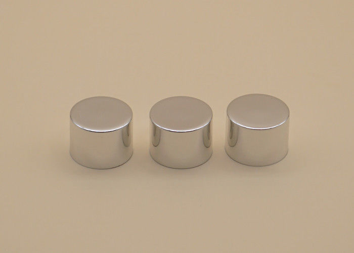 Shampoo Bottle Aluminum Screw Cap 24mm Silver Color For Personal Care